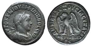 Philip II (247-249). Seleucis and Pieria, ...