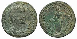 Gallienus (253-268). Caria, Tabae. Æ 12 ...