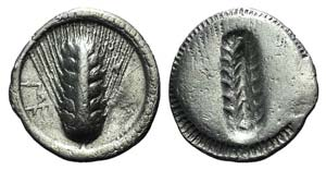 Southern Lucania, Metapontion, c. 540-510 ...