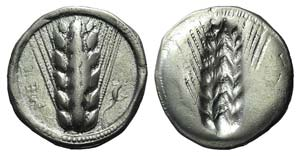 Southern Lucania, Metapontion, c. 510-470 ...