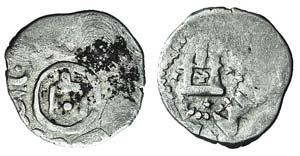 Kaffa, Genoese colony, c. 15th century. AR ...