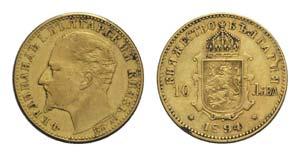 Bulgaria, Ferdinand I (1887-1908). AV 10 ...