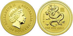 AUSTRALIA - Elisabetta II (1952) - 100 ...