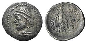 Kings of Parthia, Phraates II (132-126 BC). ...