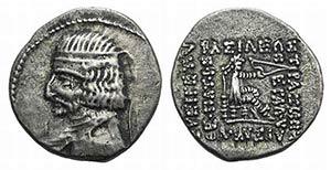 Kings of Parthia, Arsakes XVI (78/7-62/1 ...