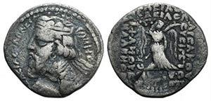 Kings of Parthia, Vonones I (c. AD 8-12). BI ...