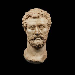 Portrait of leading figure of Antonine ...