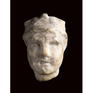 Greco Roman ruler head 2nd - 1st century BC ...