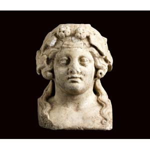 Roman herm of young Dionysus 2nd century ...