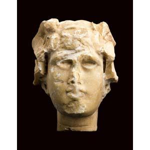 Roman giallo antico satyr head2nd century ...