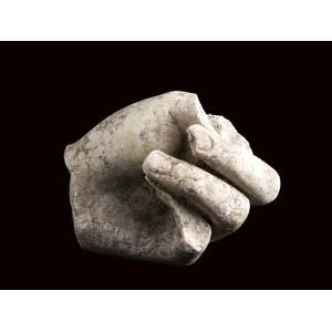 Roman hand in tight fist1st - 2nd century ...