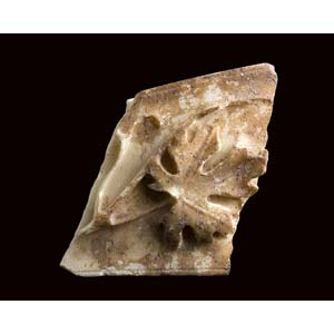 Roman cornice fragment with grapevine ...