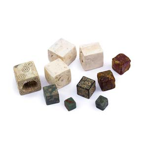 Collection of gaming dices1st – 3rd ...