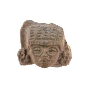 Terracotta Tatloc head Mexico, Aztec ...