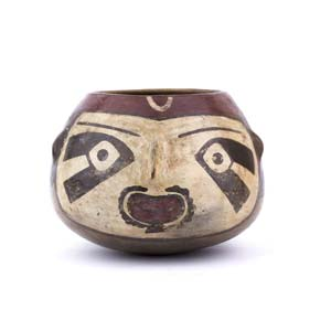 Polychrome trophy-head bowlPerù, Nazca ...