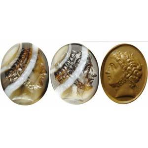 Extraordinary and rare Hellenistic intaglio ...