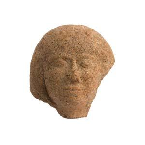Etruscan female head antefix5th century ...