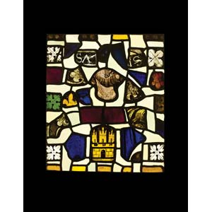 Composite panel in glassFrance, 13th century ...