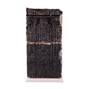 Fragment of Tournai stoneTournai or Arras, ...