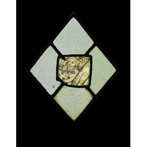 GLASS FRAGMENT Norwich, c. 1430-1440height ...