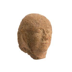 Etruscan female head antefix5th ...
