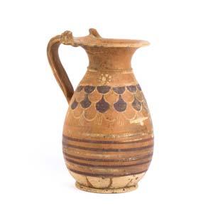 Etrusco Corinthian olpeMid 6th century ...