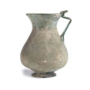 Roman glass pitcher1st – 2nd century ...