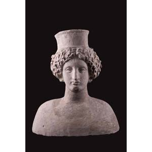 Votive bust of goddessMagna Graecia, 4th ...
