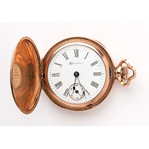 Hampden hunter pocket watch, 1900 circa the ...