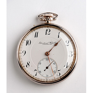 IWC SHAFFHAUSEN pocket watch,  1920 ...