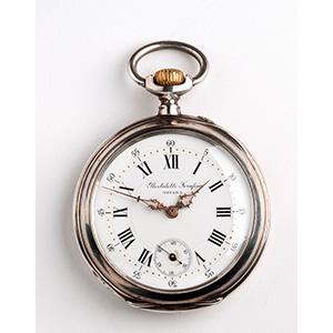Solid  800‰ Silver pocket watch, ...