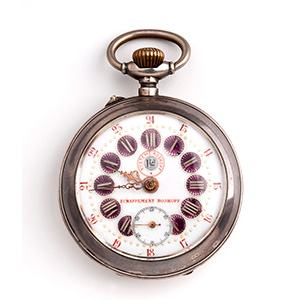 Solid 800‰ pocket watch, SYSTEM ...