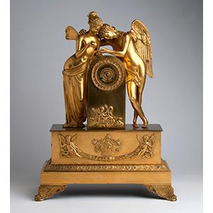 A French Gilt-Bronze table clock, circa ...