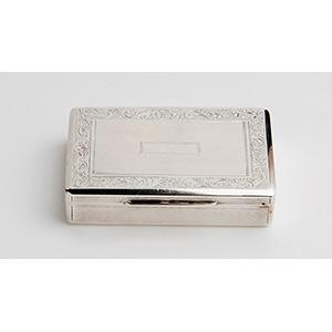 Rare Silver Snuff box, AUSTRIA-HUNGARY, ...