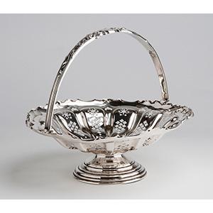 Elegant Sterling Silver (925‰) Basket,  ...