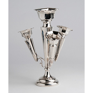 A graceful Sterling Silver (925‰) Epergne, ...