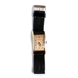 An 18K yellow gold Wristwatch, by IWC - ...