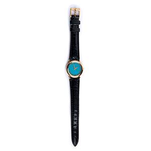 A ladies 18K gold quartz Wristwatch, by ...