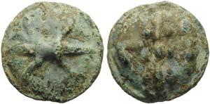 Apulia, Luceria, Cast Quadrunx, ca. 225-217 ...