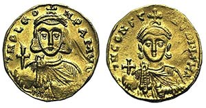 Leo III and Constantine V (717-741). AV ...