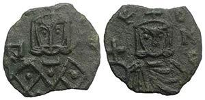 Michael I (811-813). Æ 40 Nummi (17mm, ...