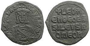 Leo VI (886-912). Æ 40 Nummi (26mm, 6.53g, ...