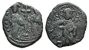 Constantine X and Eudocia (1059-1067). Æ 40 ...