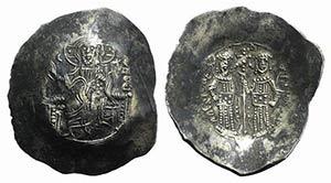 Alexius III (1195-1203). EL Aspron Trachy ...