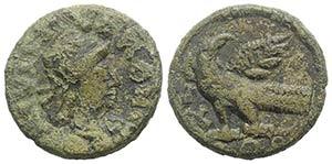 Ostrogoths. Theoderic (493-526). Æ 40 Nummi ...