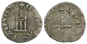 Italy, Genova. Republic, 1252-1279. AR ...