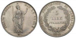 Italy, Milano. Governo Provvisorio, 1848. AR ...