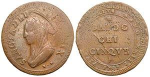 Italy, Papal, Pio VI (1774-1779). Æ ...