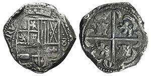 Mexico, Felipe III (1598-1621). AR Cob 8 ...
