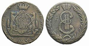 Russia, Siberia, Catherine II (1762-1796). ...